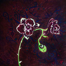 Fluorescent Orchid